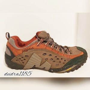 Merrell Continuum intercept rust sneakers  size 15